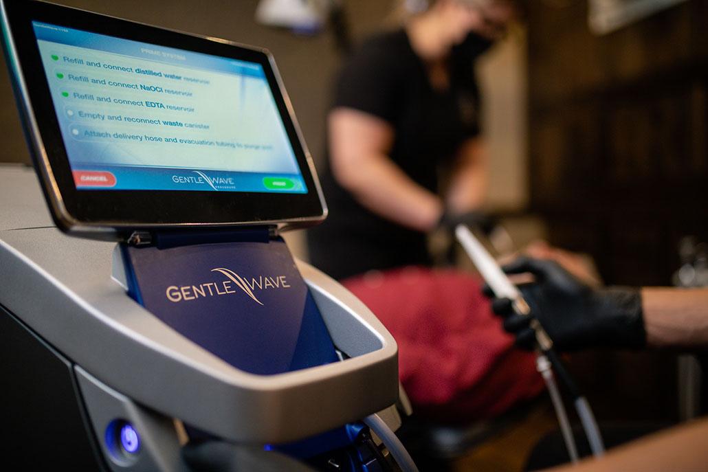GentleWave machine